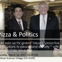 Pizza and Politics: East Asia up for grabs? Tokyo's 'proactive contributions to peace and security'