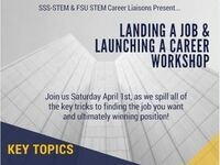 SSS-STEM: Landing a Job & Launching a Career