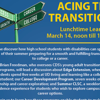 Lunchtime Learning: Acing the Transition