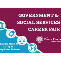 Government and Social Services Career Fair