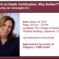 Dr. G on Death Certification: Why Bother?