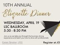 10th Annual Etiquette Dinner