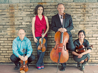 The Arianna Quartet with Ben Coelho, bassoon; Scott Conklin and Katie Wolfe, violins; Christine Rutledge, viola and Anthony Arnone, cello