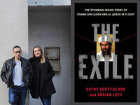 Writers LIVE: Cathy Scott-Clark, The Exile: The Stunning Inside Story of Osama bin Laden and Al Qaeda in Flight