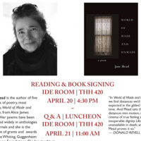 The Boudreaux Visiting Writers Series: Jane Mead