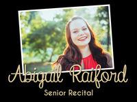 Abigail Raiford's Senior Recital