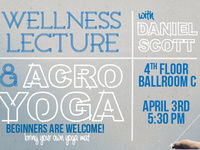 Wellness Lecture & Acroyoga with Daniel Scott