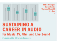 Sustaining a Career in Audio for Music, TV, Film, and Live Sound