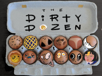 Illustration Senior Show #2: Dirty Dozen
