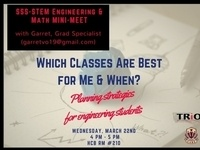 SSS-STEM: Planning strategies for engineering and math students