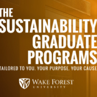 Sustainability Graduate Program Happy Hour