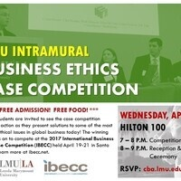 LMU Business Ethics Case Competition