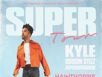 Kyle presents Super Duper Tour