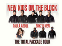The Total Package Tour: New Kids on the Block with Paula Abdul and Boyz II Men