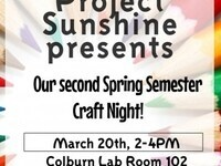 Project Sunshine's Craft Night!