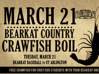 Bearkat Country Crawfish Boil