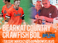 3rd Annual Bearkat Country Crawfish Boil