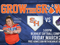 Bearkat Softball Weekend Series
