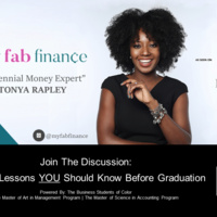 Money Lessons You Should Know Before Graduation Speaker Event