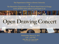 Open Drawing Concert
