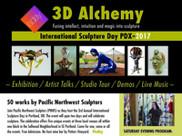 International Sculpture Day PDX: Progressive Evening Event