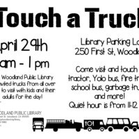 Touch-a-Truck at Woodland Public Library