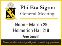 Phi Eta Sigma General Meeting