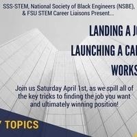 SSS-STEM: Landing a Job & Launching a Career