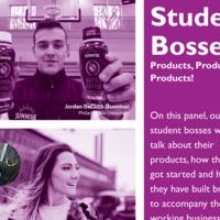 Student Bosses | Jordan DeCicco, Rachel Benyola, Megan Mandell