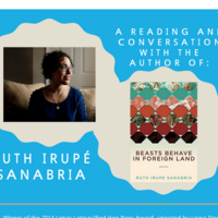 A Reading and Conversation With the Author of: Beasts Behave In Foreign Land