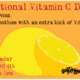 National Vitamin C Day