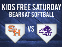 Kids Free Day at Bearkat Softball