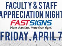 Faculty & Staff Appreciation Night - Bearkat Baseball