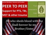 PTSD Peer Counseling Group for Veterans and Family