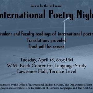 International Poetry Reading
