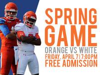 Spring Football Game - Orange vs White