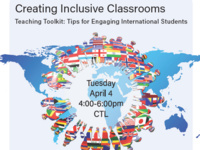 Creating Inclusive Classrooms: Support for International Students