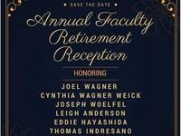 2017 Faculty Retirement Reception
