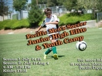 Pacific Men's Soccer Youth Summer Camp
