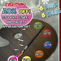 RISD Staff, Faculty & Student Appreciation Day Sale
