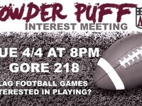 Powder Puff Interest Meeting