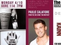 Lambda Theta Alpha Latin Sorority Inc. Presents: Paulie Calafiore