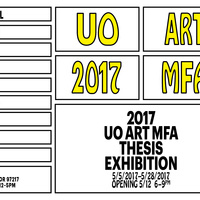 UO Art MFA Thesis Exhibition