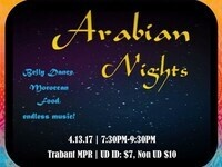 Blue Hen Belly Dance Presents: Arabian Nights