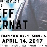 Filipino Student Association Presents: Culture Night Featuring Jeff Bernat