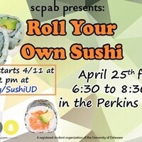 scpab presents: Roll Your Own Sushi