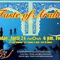 Taste of Arabia Cultural Dinner