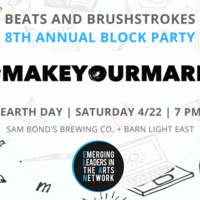 8th Annual Beats and Brushstrokes Fundraiser #MakeYourMark