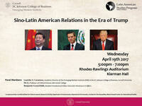 Sino-Latin American Relations in the Era of Trump
