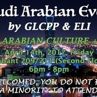 Welcome to GLCPP Saudi Arabian Culture Event